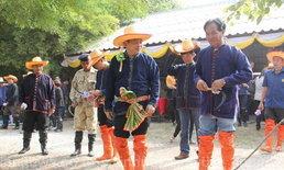 ปชช.ชัยนาท เกี่ยวข้าวเฉลิมพระเกียรติ