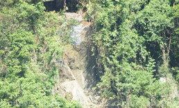 ภูเขาหินถล่มทับสวนยาง-สวนผลไม้
