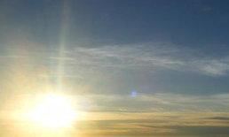 อุตุฯพยากรณ์อากาศเที่ยงวันทั่วไทยอบอุ่นขึ้น