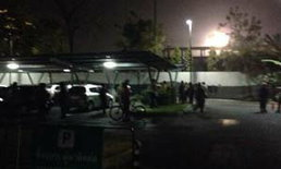 ด่วน คนร้ายยิงระเบิดใส่ ศรส.และ สถานีไทยพีบีเอส
