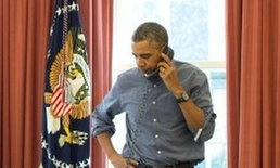 โอบามาโทรสายตรงปูติน90นาทีขอให้ถอนทหาร