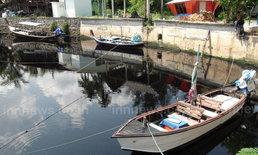 น้ำเสียคลองบางเทาไหลทะลักลงทะเลอีกระลอก