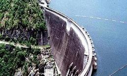 กรมชลฯรายงานน้ำในเขื่อนหลักเหลือร้อยละ54
