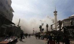 กบฏต้านปธน.ซีเรียถล่มเมืองหลวงตาย12เจ็บ50