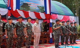 ทหารช่วยปรับปรุงแหล่งน้ำในพื้นที่พัทลุง