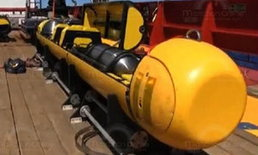 """ส่งยานบลูฟิน-21 ลุยมหาสมุทรอินเดีย หาซาก""""บินมาเลย์""""ใต้ก้นทะเลลึก4,500เมตร เผยพบคราบน้ำมันใกล้จุดค้น"""