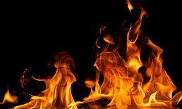 ไฟไหม้กุฏิวัดวอดทั้งหลังคาดไฟฟ้าลัดวงจร
