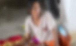 เวทนา! แม่จับทารกนั่งดมกาว เสนอขายลูก 3,000 บ.