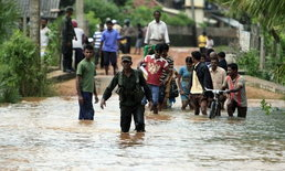 ฝนถล่มเมืองหลวงศรีลังกาเกิดดินถล่มดับ13ราย