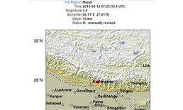 แผ่นดินไหวเนปาลครั้งใหม่ ขนาด 7.4 แมกนิจูด