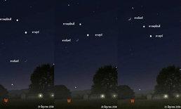 เฝ้ารอปรากฎการณ์ดาวเคียงเดือน พระจันทร์ยิ้ม 19-21 มิ.ย.นี้