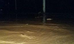 ฝนตกดินถล่ม น้ำท่วม อ.นครไทย พิษณุโลก เดือดร้อนกว่า 200 หลัง