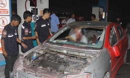 ใจสู้! แท็กซี่ถูกฟันเลือดอาบ ขับไล่รถคู่กรณีจากโคราชถึงกรุงเทพฯ