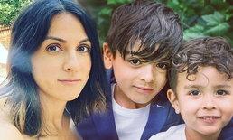 """ส่องภาพอดีตนางเอก """"ราโมน่า ซาโนลารี่"""" กับลูกชายสุดหล่อ"""