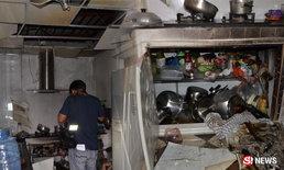 บ้านยายระเบิดบึ้ม! ลืมปิดวาล์วแก๊ส-จุดไฟอุ่นอาหารซ้ำ