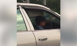 คลิปเด็กขับเก๋งที่อุบลฯ คนดูอึ้ง ถกกันให้แซ่ด