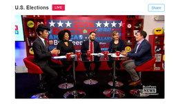 "Buzzfeed จัดใหญ่รายการสด ""ใครจะเป็น ปธน. สหรัฐคนต่อไป"" ทาง Twitter Live"
