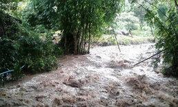 น้ำป่าหลากดอยนางแล เชียงราย กลับสู่ปกติ