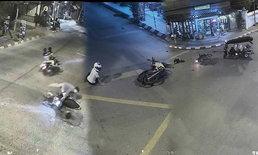 เผยคลิปอุบัติเหตุทั่วเมืองเชียงใหม่  หวังเตือนสติผู้ใช้รถใช้ถนน