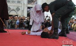หนุ่มอินโดฯ ถูกเฆี่ยนสลบ หมอบอกร่างกายยังไหวให้ลงโทษต่อ