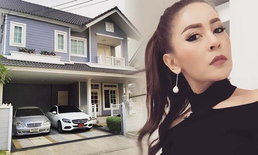 """ส่องบ้านและรถหรู """"เป๊กกี้ ศรีธัญญา"""" สวยและรวยมากจริงๆ"""