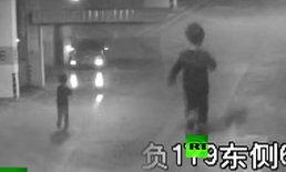เห็นแล้วต้องอึ้ง! เด็กจีนอายุแค่ 6 ขวบ ย่องขโมยขับรถแม่