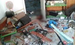 4 หนุ่มนั่งประกอบระเบิดพลาด ตู้มสนั่นคาห้องนอน ตร.ลงพื้นที่สอบด่วน