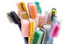 แปรงสีฟันในท้องตลาด1ใน4ด้อยคุณภาพ