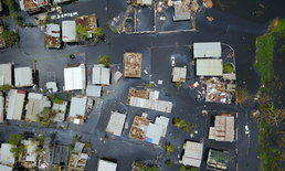 เปอร์โตริโกพังเสียหาย หลังพายุถล่ม หมู่บ้านในเอ็มวีดังโดนซัด