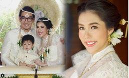 โอ๊ต วรวุฒิ จัดงานแต่งเล็กๆ แบบไทย พร้อมภรรยาและลูก