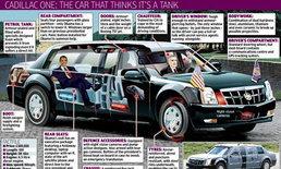 ดูกันจะจะ  กับสุดยอดรถของโอบามา