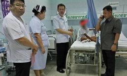 เด็กถูกแม่-พ่อเลี้ยงทำร้าย ต้องเผ่นหนีมาอยู่เซเว่นกบินทร์บุรี