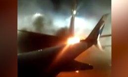 เครื่องบินโดยสาร 2 ลำเฉี่ยวชนกันกลางสนามบินโตรอนโต
