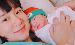 """เพชร นาระ ปลื้มกลายเป็นคุณแม่ลูก 2 ตั้งชื่อให้น่ารัก """"น้องนาร์วาฬ"""""""