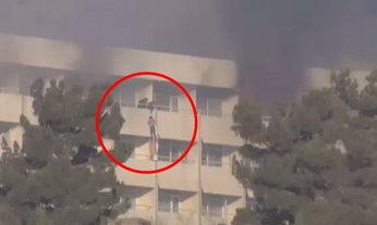 วิกฤตจับตัวประกันโรงแรมหรูกรุงคาบูล ผู้คนโรยตัวหนีตายชุลมุน