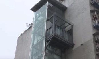 ชายจีนลงทุนสร้างลิฟต์จอดถึงห้อง เผยขึ้นบันไดเหนื่อยเกิน