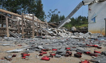 โรงงานดอกไม้ไฟในอินเดียระเบิด คนงานดับ 8 เจ็บ 20