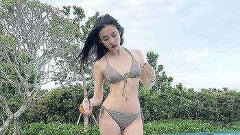 กิ๊บซี่ ขนชุดว่ายน้ำรับลมทะเล ถึงเล็กแต่ก็เผ็ดแบบพริกขี้หนู