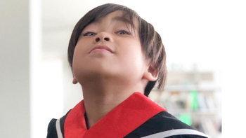 """""""น้องออก้า"""" โดนเรียกพบผู้ปกครองอีกแล้ว วิชาภาษาไทยได้ 2 เต็ม 30"""