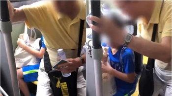 วิจารณ์หนัก ชายแก่แย่งที่นั่งเด็ก ต่อว่ารุนแรง-หย่อนก้นทับขาหลายครั้ง