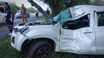 วิวาห์รักสลาย สาวนั่งรถตู้ผ่านจุดอุบัติเหตุ เจอร่างคู่หมั้นเสียชีวิตอยู่ในนั้น