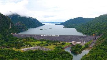 """การไฟฟ้าฯ มั่นใจ เขื่อนไทยแข็งแรง-ไม่แตก แม้พายุ """"เซินติญ"""" เพิ่มระดับน้ำ"""