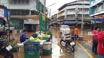 ต้านไม่อยู่! น้ำทะลักเข้าเขตเศรษฐกิจน่าน เร่งสูบน้ำออกก่อนท่วมเมือง