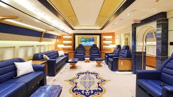 กาตาร์ประกาศขาย หนึ่งในเครื่องบินลำหรูที่สุดในโลก โบอิ้ง 747-8i