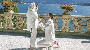 """""""กันต์ กันตถาวร"""" คุกเข่าขอแฟนแต่งงาน ซูมแหวนเพชรเม็ดใหญ่มาก"""