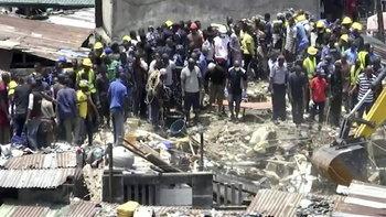 อาคารโรงเรียนในไนจีเรียถล่ม คาดนักเรียนติดใต้ซาก 10 คน
