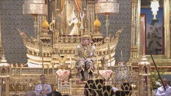พระราชพิธีบรมราชาภิเษก: ในหลวงเสด็จออกมหาสมาคมรับการถวายพระพรชัยมงคล