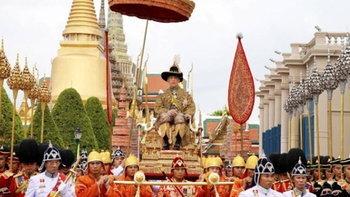 ประมวลภาพเหตุการณ์ในประวัติศาสตร์ พระราชพิธีบรมราชาภิเษก 2562