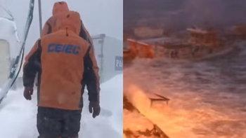 ทรหดมิใช่เล่น! เปิดห้องทำงานยักษ์ของนักวิจัยจีนบนทวีปแอนตาร์กติกา
