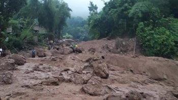 แม่ฮ่องสอนลุยหา 7 ผู้สูญหายต่อ เหตุน้ำป่าไหลหลากที่สบเมย